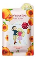 Sally's Box Маска для лица с экстрактом персика Loverecipe Peach Mask 25мл