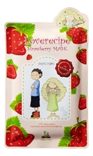 Sally's Box Маска для лица с экстрактом клубники Loverecipe Strawberry Mask 25мл