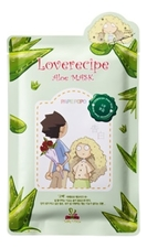 Sally's Box Маска для лица с экстрактом алоэ Loverecipe Aloe Mask 25мл