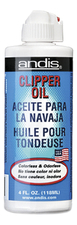ANDIS Масло для машинок Clipper Oil 118мл