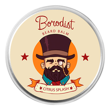 Borodist Бальзам для бороды Beard Balm Citrus Splash 50г