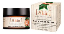 A'kin Антиоксидантный крем для лица Шиповник и масло ши Intense Hydration Day & Night Cream 50мл