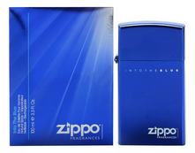 Zippo Fragrances Into The Blue