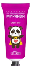 Baviphat Крем для рук Urban Dollkiss It's Real My Panda Hand Cream Grace Lily 30г
