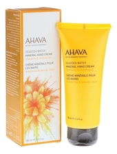 AHAVA Минеральный крем для рук Deadsea Water Mineral Hand Cream Mandarin & Cedarwood 100мл (мандарин и кедр)
