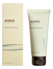AHAVA Грязевой пилинг для лица Time To Clear Facial Mud Exfoliator 100мл