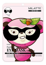 Milatte Восстанавливающая маска от морщин вокруг глаз Fashiony Black Eye Mask-Raccoon 10г