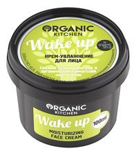 Organic Shop Крем-увлажнение для лица Wake Up Organic Kitchen Moisturizing Face Cream 100мл