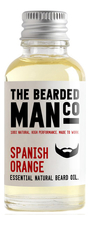 The Bearded Man Company Масло для бороды с запахом испанского апельсина Essential Natural Beard Oil Spanish Orange