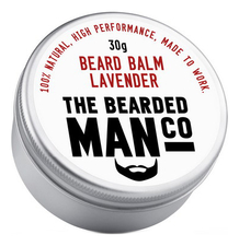 The Bearded Man Company Бальзам для бороды с запахом лаванды Beard Balm Lavender