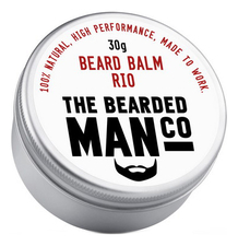 The Bearded Man Company Бальзам для бороды с запахом Рио Beard Balm Rio