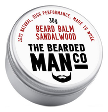The Bearded Man Company Бальзам для бороды с запахом сандала Beard Balm Sandalwood