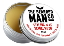 The Bearded Man Company Воск для усов с запахом сандала Styling Wax Sandalwood 15мл
