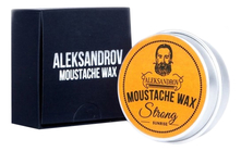 ALEKSANDROV Воск для усов Sunrise Moustache Wax Strong 13г