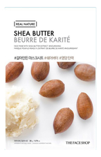 The Face Shop Тканевая маска для лица с экстрактом масла ши Real Nature Mask Shea Butter 20г