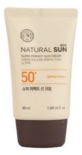 The Face Shop Солнцезащитный крем для тела Natural Sun Eco Super Perfect Sun Cream SPF50+ PA+++ 50мл