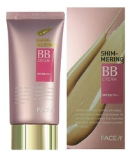 The Face Shop Увлажняющий BB крем Face It Shimmering BB Cream SPF20 PA++ 40мл