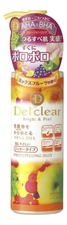 Meishoku Пилинг-гель для лица Detclear AHA & BHA Fruits Peeling Jelly 180мл (аромат фруктов)
