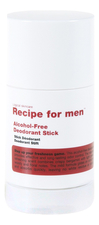 Recipe For Men Дезодорант-стик Alcohol-Free Deodorant Stick 75г
