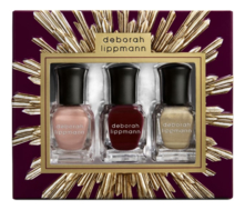 Deborah Lippmann Набор лаков для ногтей Family Jewels 3*8мл (Chalice In The Palace + Single Ladies + Crowning Moment)