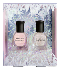 Deborah Lippmann Набор лаков для ногтей Ice Princess Duet 2*8мл (La Vie En Rose + Heart of Glass)