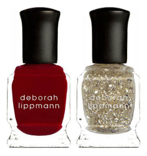 Deborah Lippmann Набор лаков для ногтей Ice Queen Duet 2*8мл (Lady Is A Tramp + The Golden Rule)