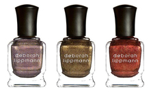 Deborah Lippmann Набор лаков для ногтей Rock This Town 3*15мл (Moon Dance + Chain Reaction + Phoenix Rising)