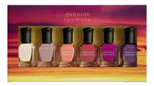 Deborah Lippmann Набор лаков для ногтей Sunrise, Sunset 6*8мл (Soak Up The Sun + Sun Daze + Ultralight Beam + Fire On The Horizon + Dusk And Summer + After The Glow)