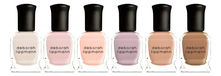 Deborah Lippmann Набор лаков для ногтей Undressed 6*8мл (Flesh For Fantasy + Totally Nude + Born This Way + Bare It All + Natural Woman + Skin Deep)