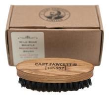 Captain Fawcett Щетка для усов Wild Boar Bristle Moustache Brush