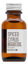 Beardbrand Масло для бороды Spiced Citrus Beard Oil 30мл