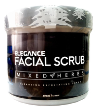 Elegance Питающий скраб для лица Facial Fresh Scrub Mixed Herbs Intensive Nutrition 500мл (смесь трав)