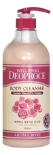 Deoproce Гель для душа Well-Being Aroma Body Cleanser Rose 1000мл (роза)
