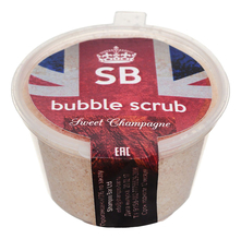 Shampoo Bar Скраб-пена Bubble Scrub Sweet Champagne 80г
