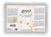 Starpil Парафин с маслом карите Белый Paraffin Shea Butter White 500г