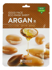 Amicell Тканевая маска для лица с маслом арганы Pascucci Good Face Eco Mask Sheet Argan 23мл