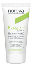 Noreva Крем для лица Exfoliac Global 6 Corrective & Unclogging Imperfections Care 30мл