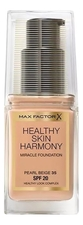 Max Factor Тональная основа Healthy Skin Harmony Miracle Foundation SPF20 30мл
