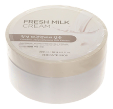 The Face Shop Крем для лица и тела с экстрактом молока Daegwallyeong Milk Fresh Cream 300мл