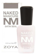 ZOYA Сатиновое верхнее покрытие Naked Manicure Satin Seal 15мл