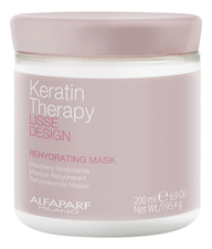 Alfaparf Milano Маска для волос Lisse Design Keratin Therapy Rehydrating Mask 200мл