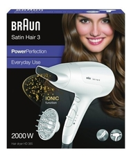 Braun Фен для волос Satin Hair 3 PowerPerfection HD385 2000W