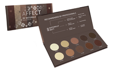AFFECT Палетка матовых теней для век Naturally Matt Eyeshadows Palette 25г