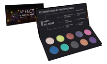 AFFECT Палетка теней Party All Night Pressed Eyeshadows Palette 25г