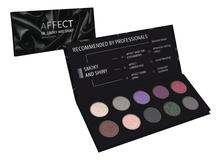 AFFECT Палетка теней Smoky And Shiny Pressed Eyeshadows Palette 25г