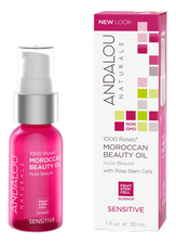 Andalou Naturals Концентрат масел для лица Sensitive 1000 Roses Moroccan Beauty Oil 30мл
