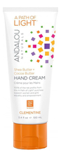 Andalou Naturals Крем для рук A Path of Light Hand Cream Clementine 100мл (клементин)
