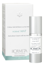 HORMETA Матирующий крем для лица Horme Mat Creme Anti-Brillance Au Tea Tree Oil 30мл