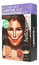Bellapierre Cosmetics Набор для моделирования лица All Over Face Contour And Highlight