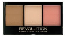 Makeup Revolution Палетка для контурирования лица Ultra Sculpt & Contour Kit 11г